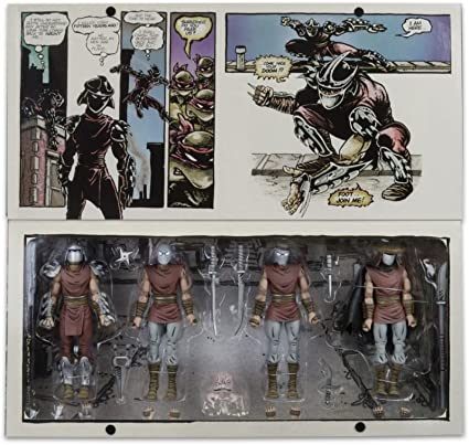 NYCC Exclusive TMNT Eastman & Laird Villains 4 Pack Limited Set