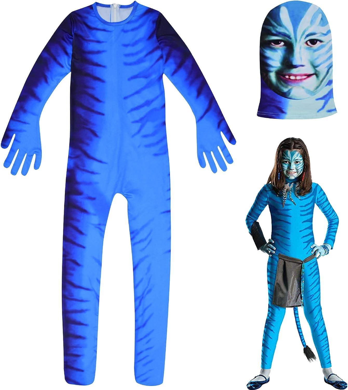 COOGG Disfraz de Halloween para Cosplay, Disfraz de Avatar: Amazon ...