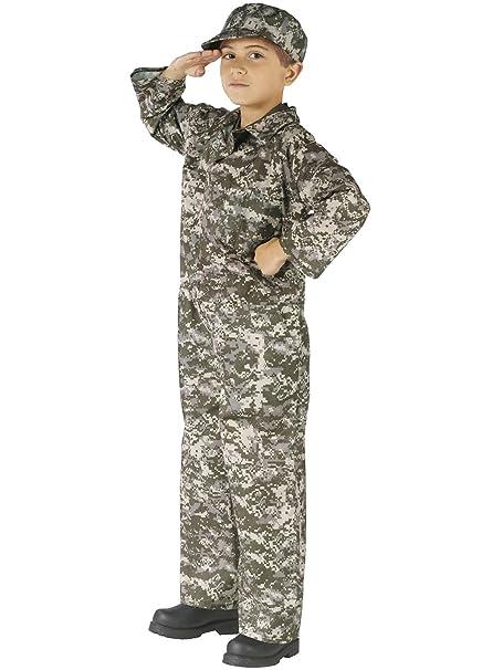 Amazon.com: ACU camuflaje Soldado Niño Disfraz: Clothing