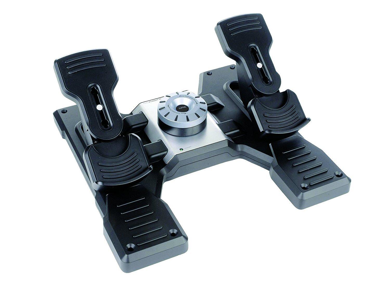 Logitech G Saitek PRO Flight Rudder Pedals Sistema de control para simuladores