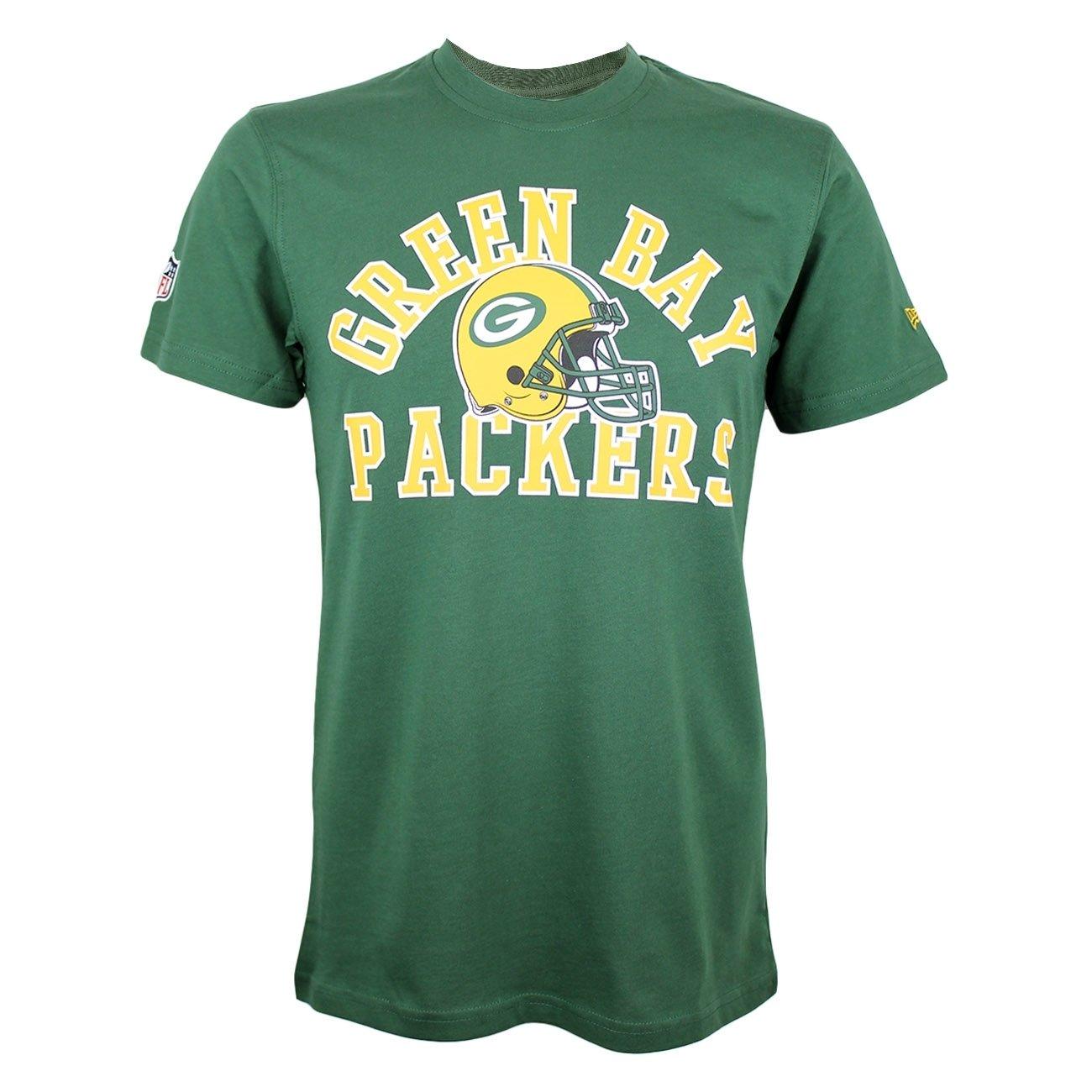 New Era Ne96449Fa16 NFL College Tee Grepac Cig - T-Shirt-Linie Green Bay Packers für Herren, Farbe Grün, Größe Farbe Grün Größe 11278300