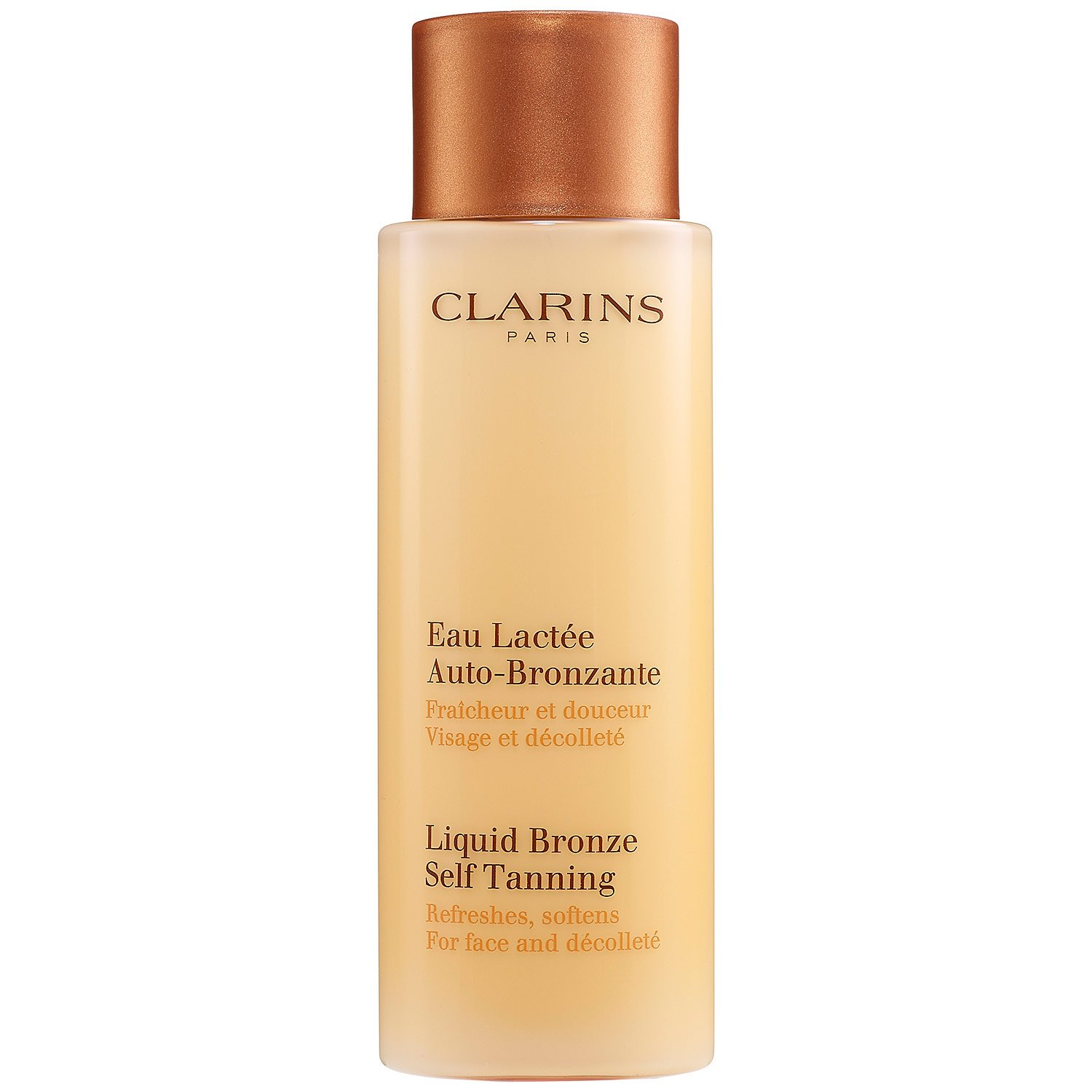 Amazon.com   Clarins - Liquid Bronze Self Tanning - Face   Decollete (  Unboxed )--125ml 4.2oz for Women   Self Tanning Products   Beauty 16b7e42baa