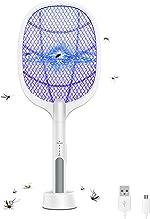Electric Bug Zapper Racket for Indoor and Outdoor, 2 in 1