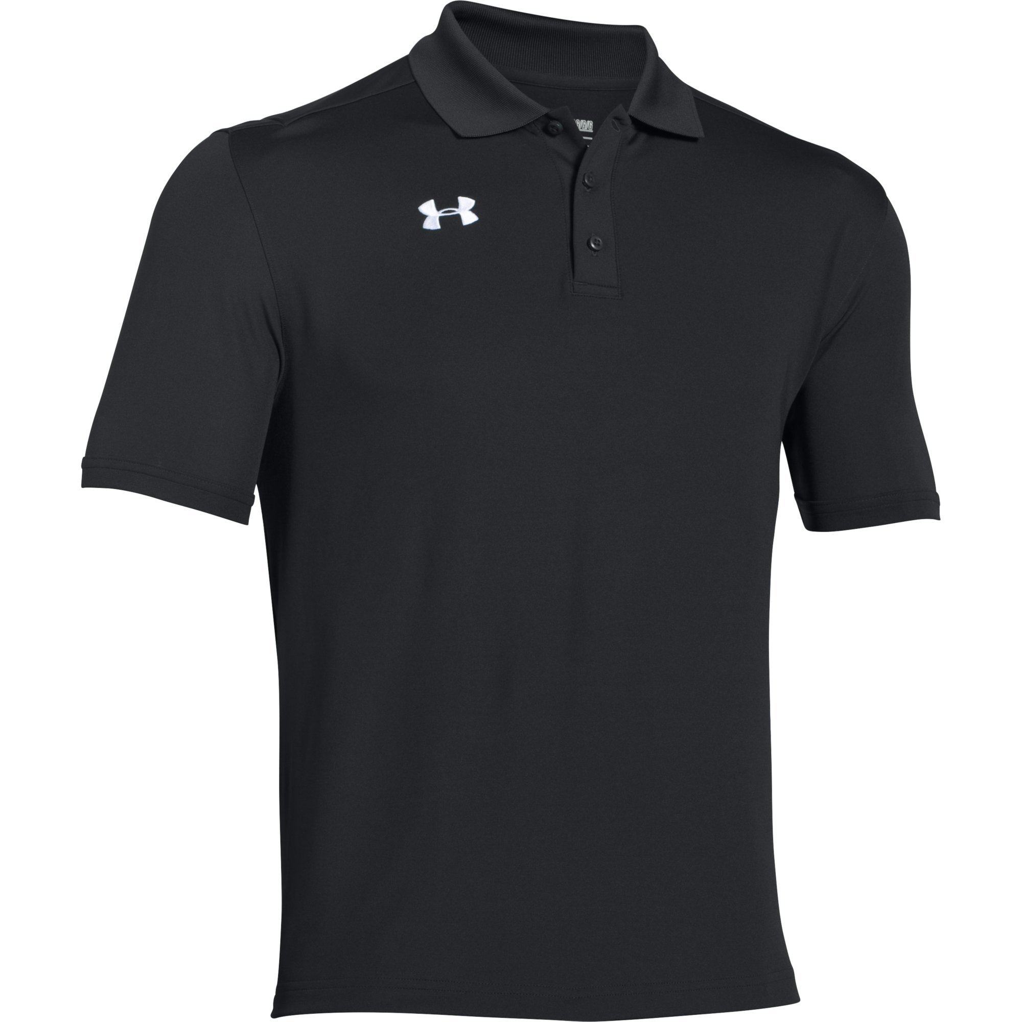 Under Armour Team Armour Men's Golf Polo (Black, Large) by Under Armour (Image #1)