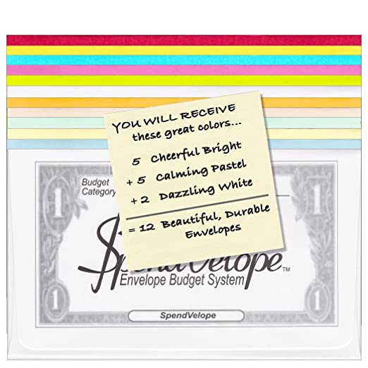 Amazon.com : SpendVelope Envelope Budget System : Expense ...