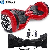 Cool&Fun HoverBoard/Skateboard/Gyropode Éléctrique Auto-équilibrage Bluetooth Scooter Trottinette Électrique 8 Pouces