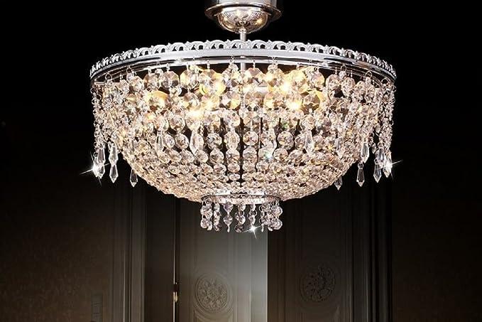 Plafoniere In Cristallo : Arrediorg plafoniera di cristallo 095096 w7: amazon.it: illuminazione