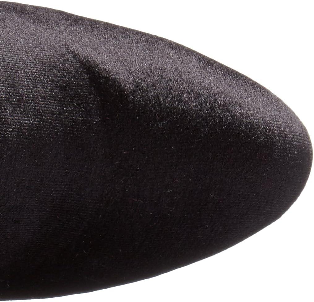 Steve Madden Emotion, Bottes Hautes Femme Noir Velvet Black