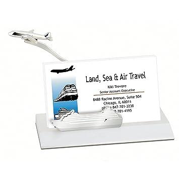 Amazon business card holder with molded airplane cruise ship business card holder with molded airplane cruise ship business card holder for office colourmoves