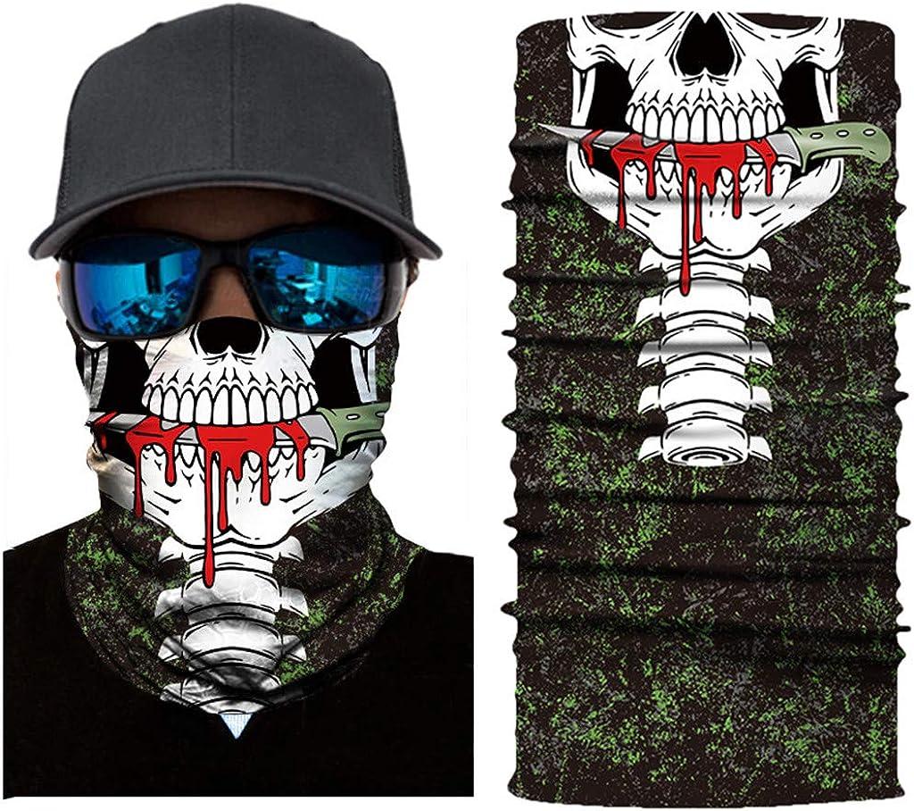 Bumplebee Face Shield Bandana Motorrad Halstuch Schlauchtuch Multifunktionstuch D/ünner Schlauch Armtuch mit Muster f/ür Herren Radfahren Fischen Wandern