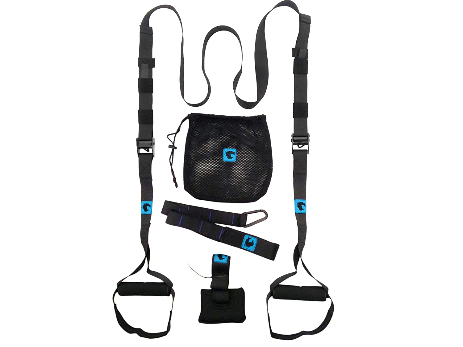 gymadvisor PRO FEDERUNG TRAINING SET crossfit trainer nach hause fitness TRAINING