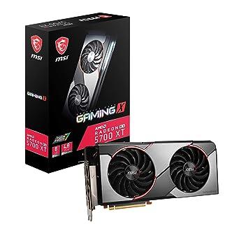 Radeon RX 5700 XT Gaming X - Tarjeta Gráfica Enthusiast (8 ...