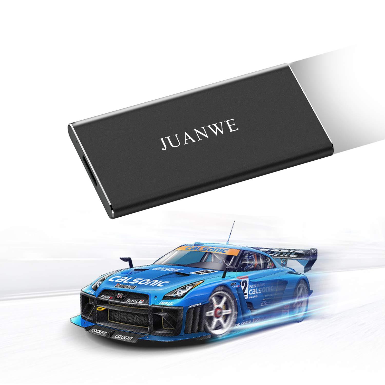 JUANWE 120GB USB 3.0 External Portable SSD, High Speed Read/Write Ultra Slim Solid State Drive - Black by JUANWE (Image #8)