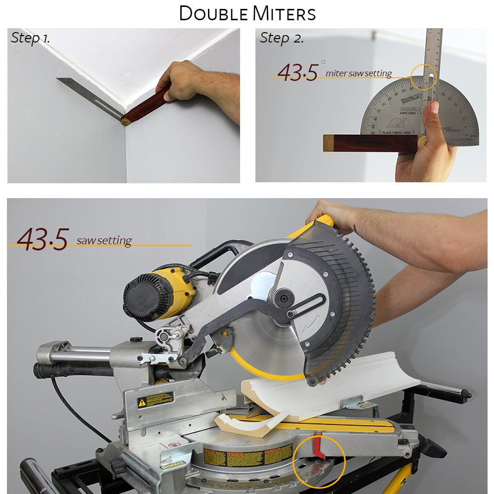Sawset: The Miter Saw Protractor. Reinvented to Eliminate Math! Designed by Carpenters for Carpenters. by Sawset (Image #5)