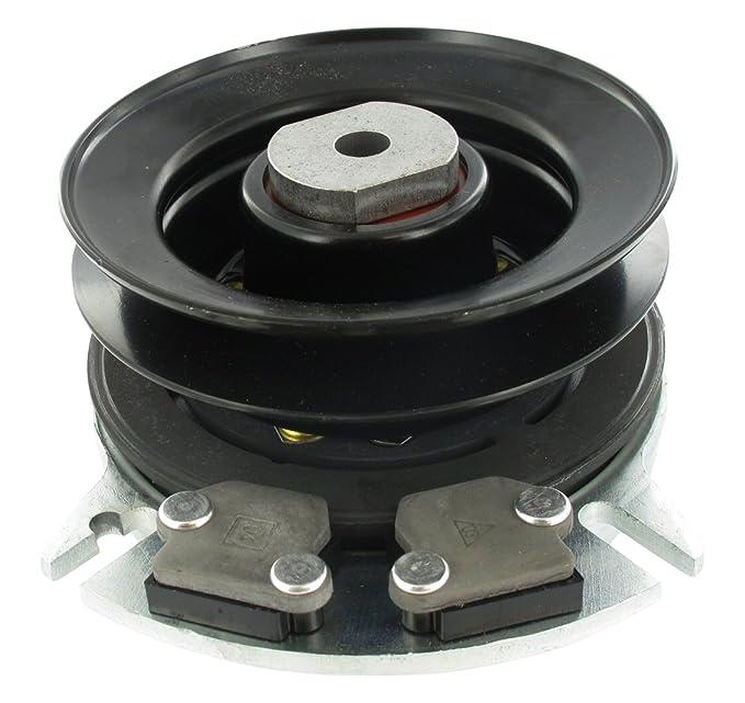 Greenstar 4665 embrague electromagnética para Castelgarden/Stiga H 90 mm diámetro 25/4 mm: Amazon.es: Bricolaje y herramientas