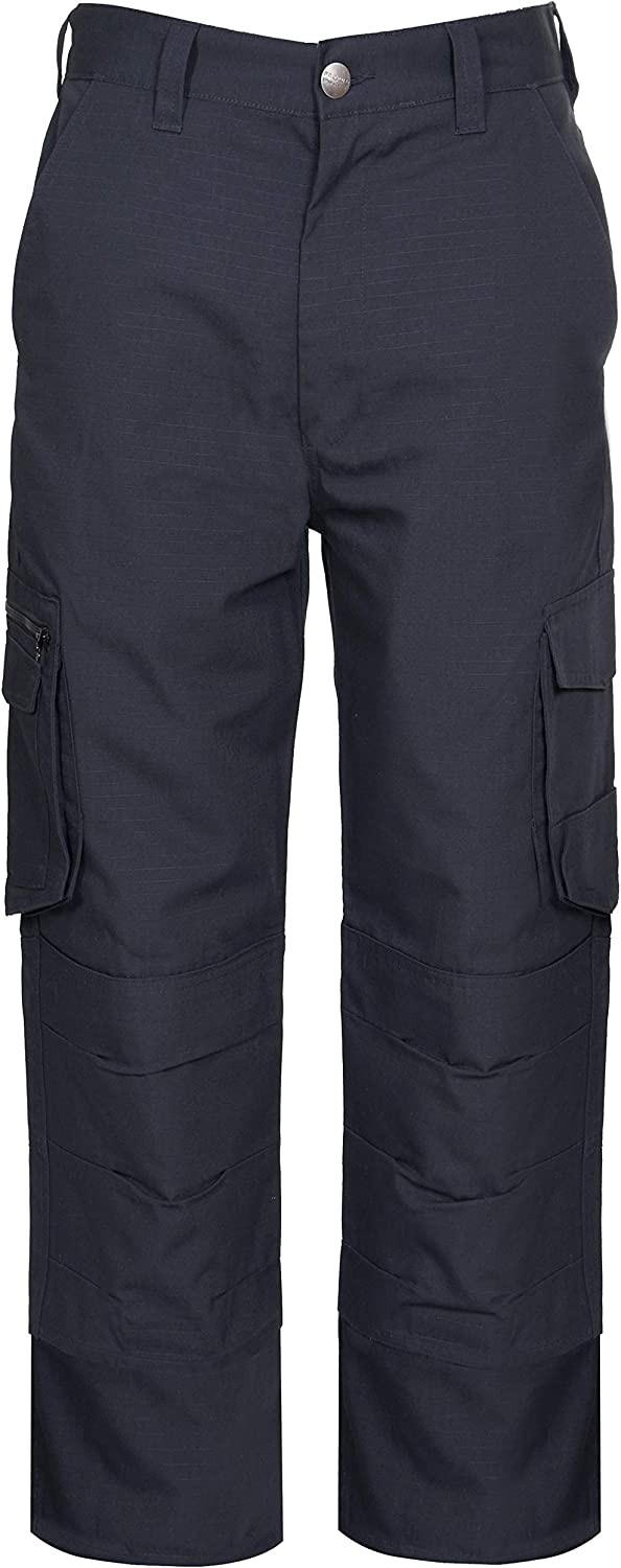 Endurance Ripstop Cargo Combat Tradesman Action Trouser with Security Zip Pocket and Knee Pad Pockets