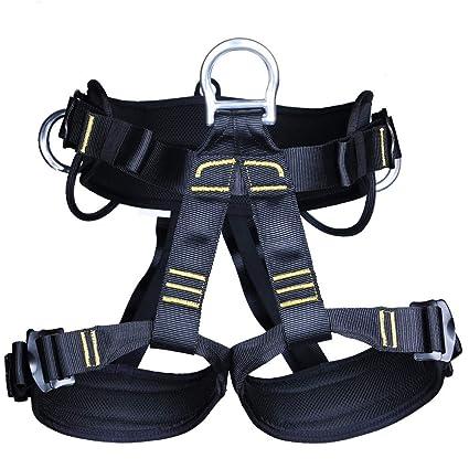 XHHWZB Arnés de Escalada Cinturón de Seguridad para rescates de Incendio Asignación de Escuela de Altura