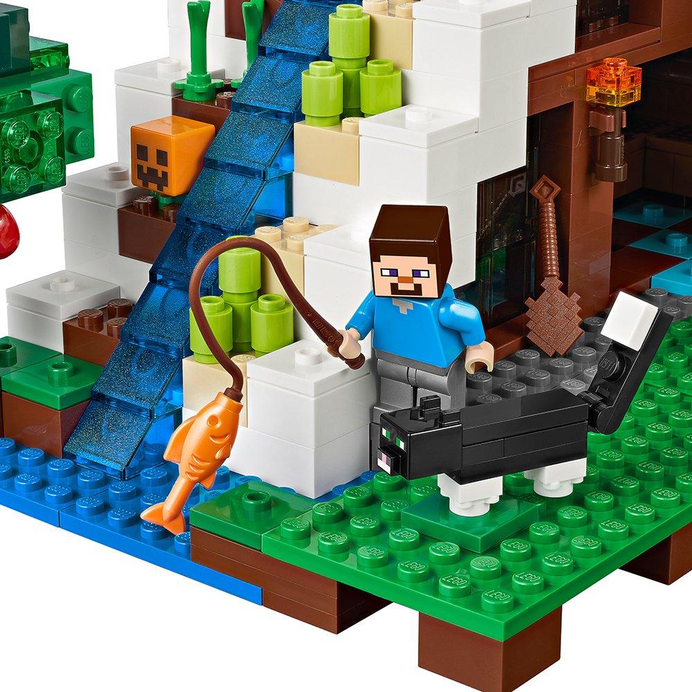 Minecraft Hidden Water Falls Building Blocks Figures Bricks Toys