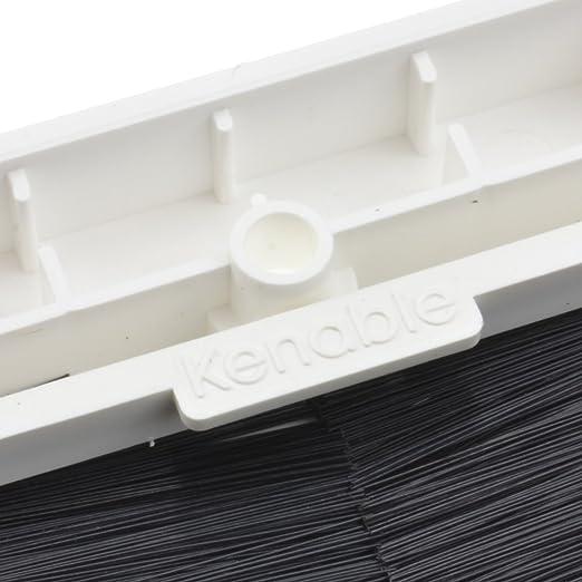 Negro Cepillo Placa Frontal Para Cable Salida Pared Salida UK Solo Grupo Blanco: Amazon.es: Electrónica
