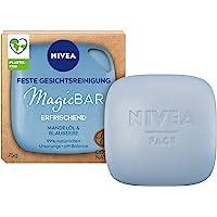 NIVEA MagicBar Vaste gezichtsreiniging, verfrissend (75 g), gezichtsreiniger voor een mooi, zacht huidgevoel…