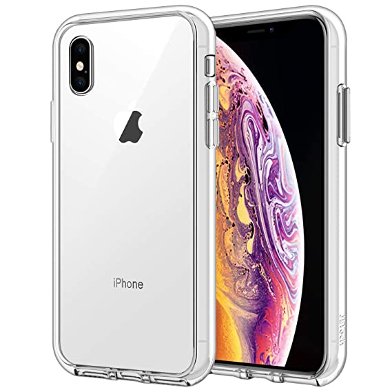 bb7ab3aa2b3 JETech Funda para Apple iPhone XS y iPhone X, Carcasa Bumper,  Shock-Absorción