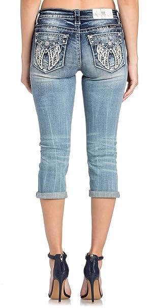 Amazon.com: Miss Me M5082P76 - Pantalones vaqueros de ...