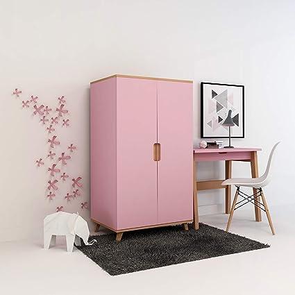 XXL Colorland Kleiderschrank Kinderzimmer mit eine innere ...