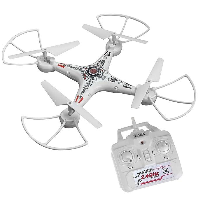 Drone escuadrón Banshee RC Stunt Quadcopter con cámara de vídeo 6 ...