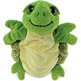 """Puzzled Sea Turtle Super Soft Plush Hand Puppet - Ocean / Sea Life Collection - 10"""" INCH - Unique loveable Gift - Item #5757"""