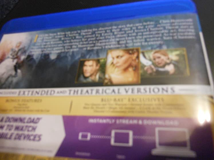 The Huntsman: Winter's War - Extended Edition 'AND THEY ALL LIVE HAPPILY EVER-AFTER ??'