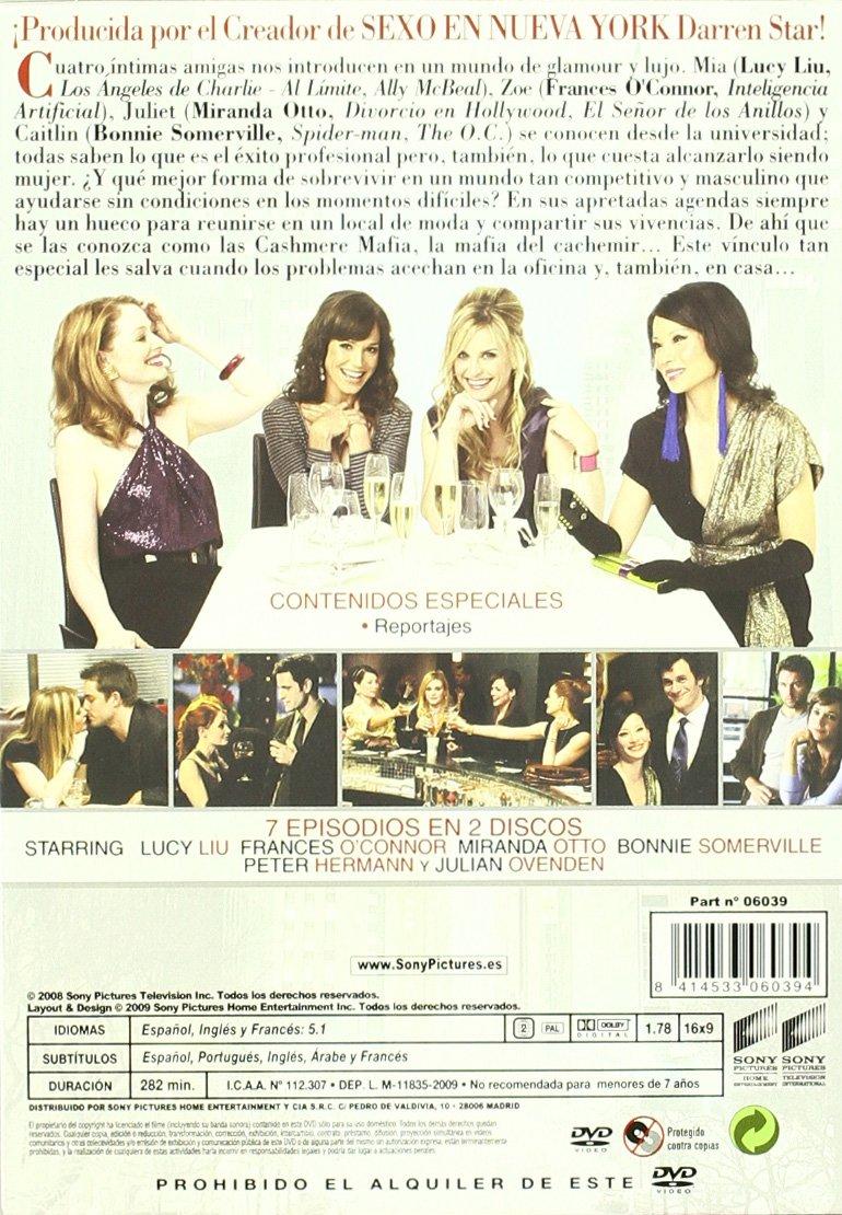 Cashmere Mafia: La Serie Completa [DVD]: Amazon.es: Lucy Liu, Frances O Apos, Connor, Miranda Otto, Bonnie Somerville, Peter Hermann, Kevin Wade, ...