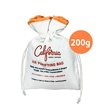 Amazon.com: Bolsa purificadora de aire de carbón de bambú (6 ...