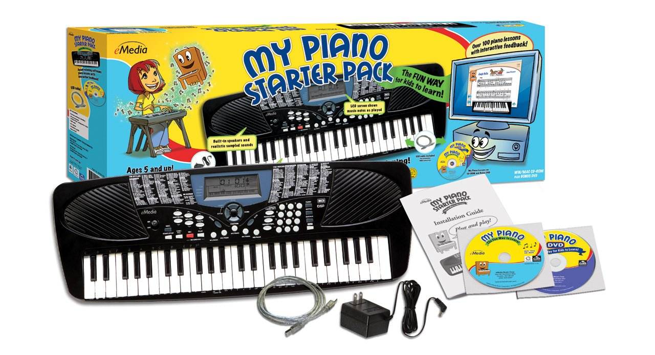 eMedia My Piano Starter Pack [Old Version, EK05103] by eMedia