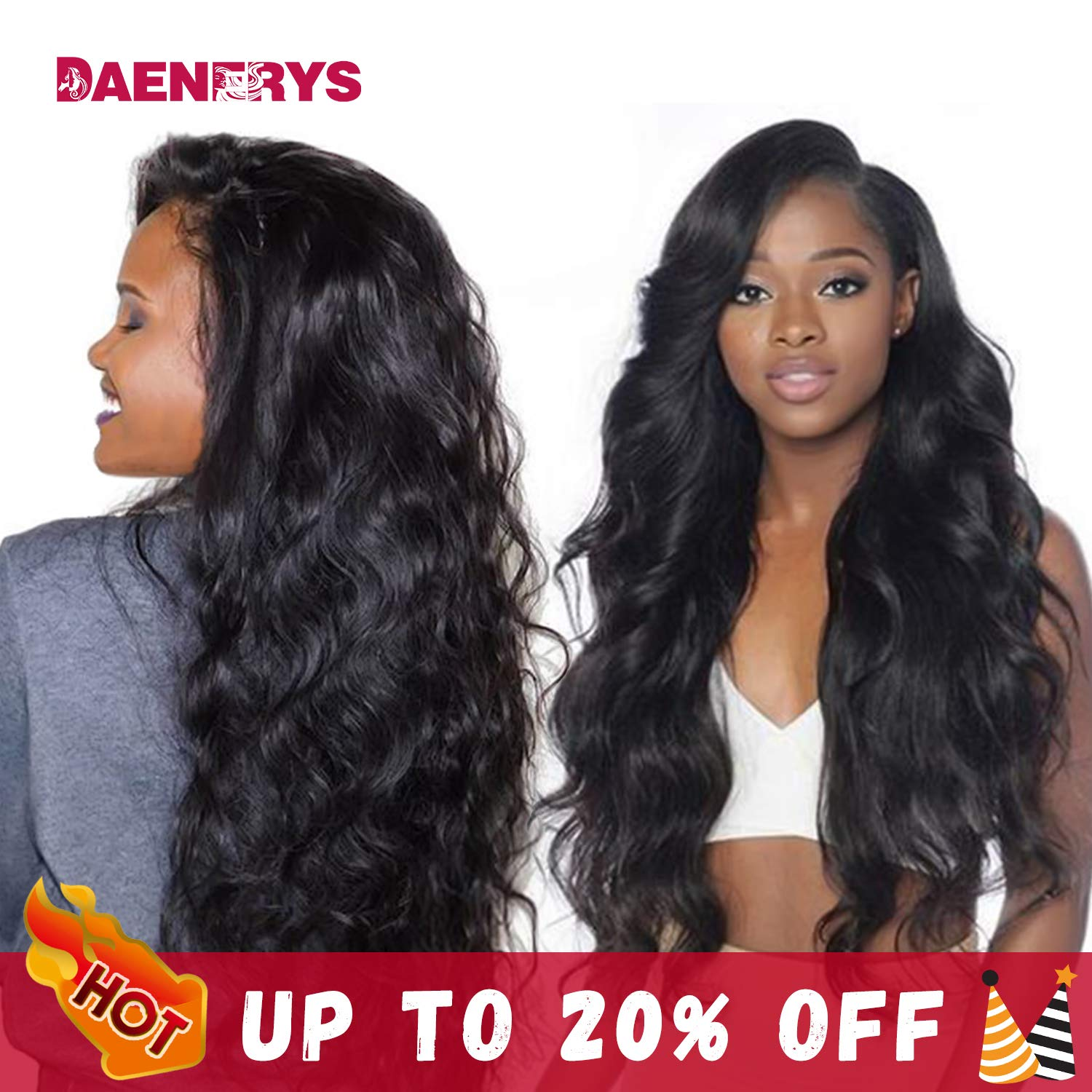 360 Lace Frontal wigs Human Hair Wigs 20inch Pre Plucked Hairline with Baby Hair Body Wave Human Hair Lace Front Wigs Natural Color 150% Density