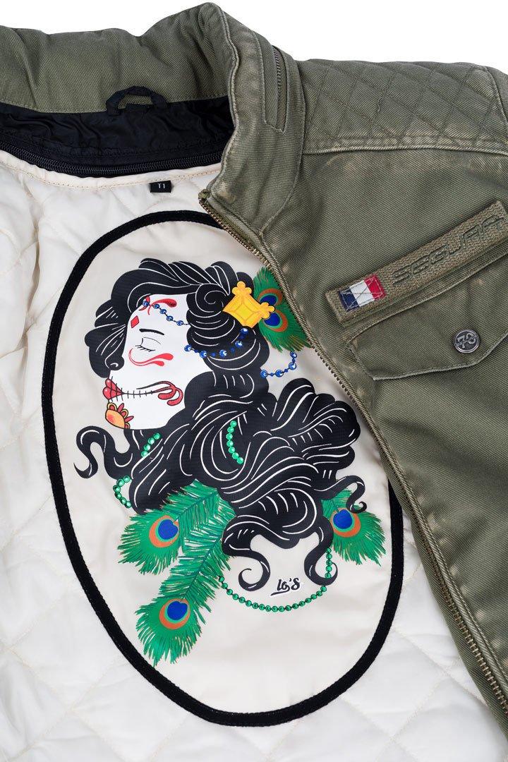 KHAKI Damen Jacke Grösse: 46 Segura Frida T5