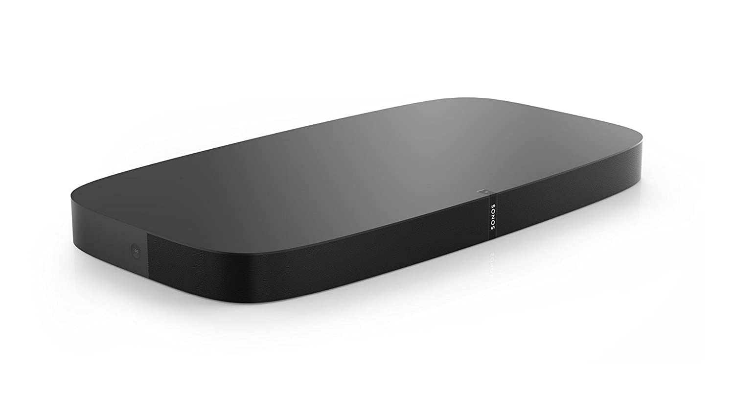 Sonos Playbase – For Widescreen Sound and Music Streaming for TVs on Stands or other furniture. Works with Alexa. (Black)