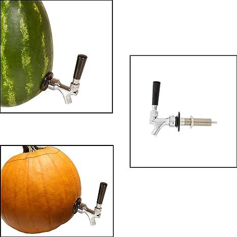 Amazon.com | Pumpkin Watermelon Keg Tap Kit - Standard Faucet and ...
