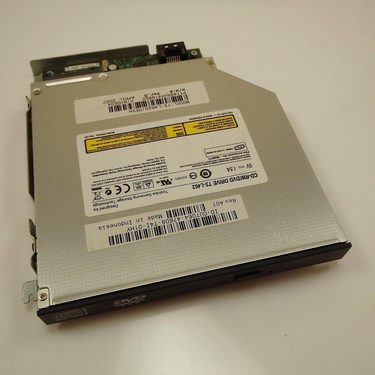 Genuine Dell CD Burner CD-RW / DVD-ROM IDE Slim Internal Optical Drive, Replaces Dell Part Numbers: 3R122, MK723, CC755, FD167, X1612, M6930, 2D410, P9506, Y8533, R3792, J9236, CC773, H9669, WG939, HM438, UT064