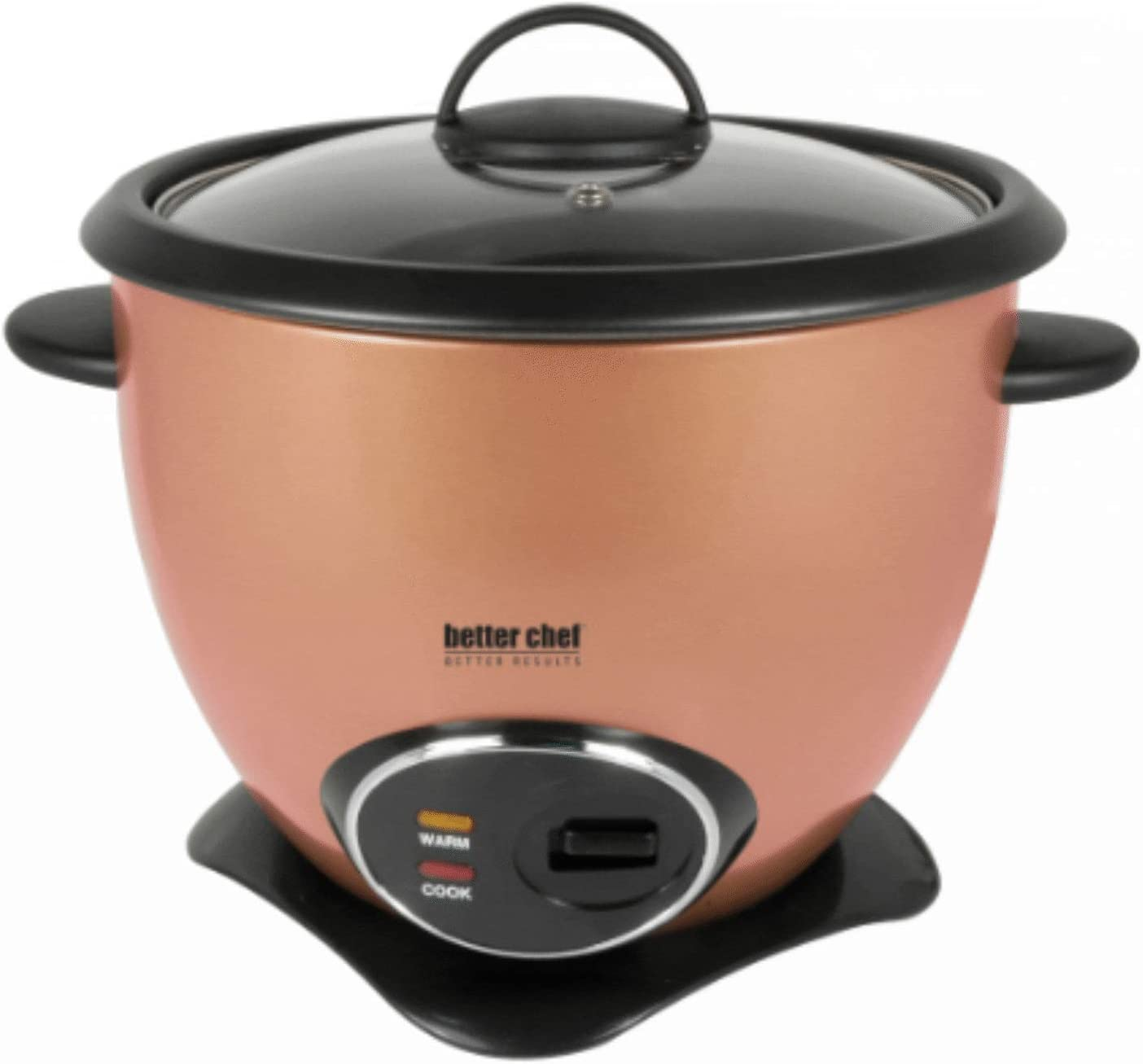 10c/20c Non-Stick Rice Cooker with Steamer copper