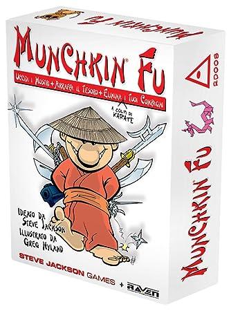 Raven Munchkin Fu - Juego de Mesa: Amazon.es: Juguetes y juegos
