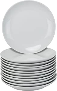 10 Strawberry Street CATERING-12CPSLD Catering Coupe Salad Plates, White