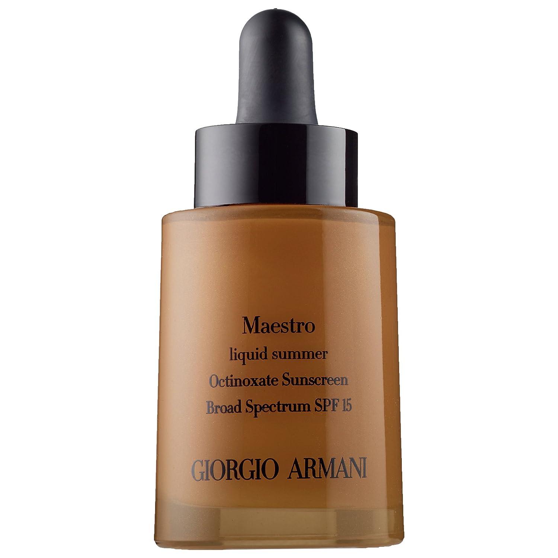 Amazon.com : Giorgio Armani Maestro Liquid Summer Bronzer SPF 15 ...