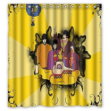 60 U0026quot;x72u0026quot; The Beatles Shower Curtain Waterproof Fabric Shower  Curtain