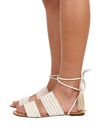 Schutz Zendy Crochet Sandal Cru