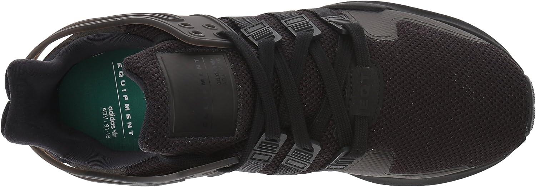 adidas Originals Damen EQT Support ADV W, Core Black/Sub Green, Medium Black/Black/Sub Green