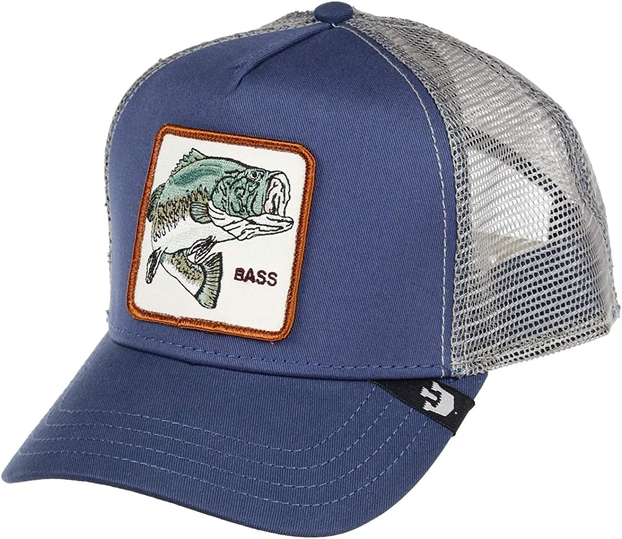 Goorin Bros Trucker Cap Big Bass/Barsch Blue - One-Size: Amazon.es ...