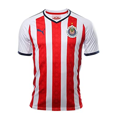 12997dad288 Amazon.com  Puma Youth Soccer Chivas Home Jersey  Clothing