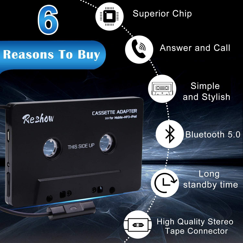 Reshow Universal Bluetooth Converter Auto Band Mp3 Elektronik