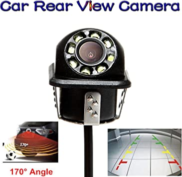 Backup Camera with 170 Degree Wide Viewing Angle High Definition and Waterproof IP68