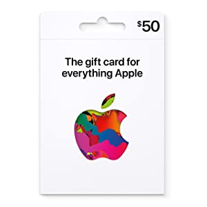 Apple Gift Card - App Store, iTunes, iPhone, iPad, AirPods, MacBook, accessories and more